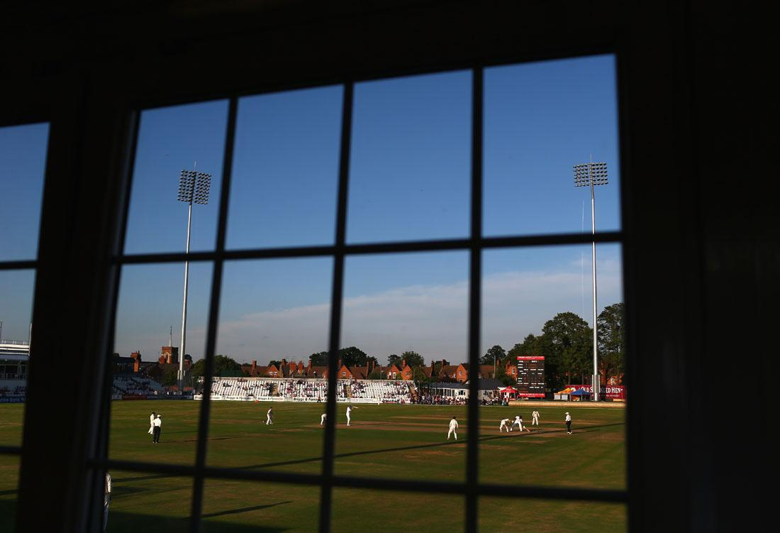 NORTHAMPTON, ENGLAND - AUGUST 16:  A general view of play during Day One of the Tour Match between England Lions and Australia at The County Ground on August 16, 2013 in Northampton, England.  (Photo by Ryan Pierse/Getty Images)