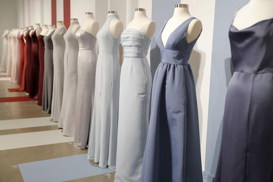 <p>Since brides today crave options, bridal designers have begun to deliver a wide range of silhouettes to accommodate any bridal party. </p>