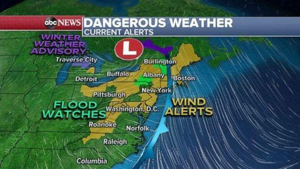PHOTO: Dangerous weather (ABC News)