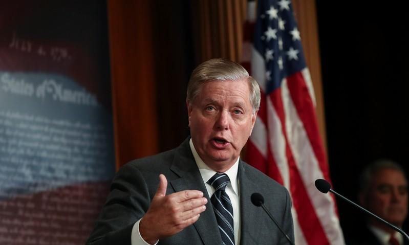 Facebook takes down false ad from PAC on Republican Graham