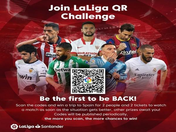 LaLiga launched the 'LaLigaQRChallenge', which aims to overcome the void created by geographic boundaries and unfortunate challenges of the pandemic.