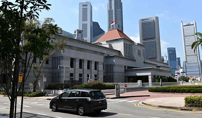 Singapore's Parliament passed a new law to fight fake news in October last year. Photo: AFP