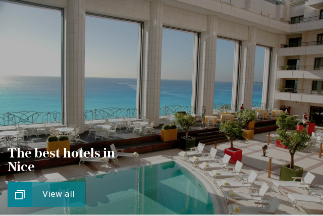The best hotels in Nice