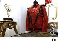 Pic of Michael Jackson Thriller jacket