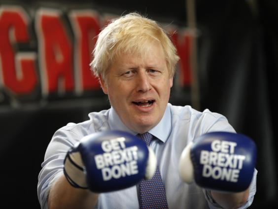 Brexit's champion: Johnson has come out on top in the struggle to leave the EU (Getty)