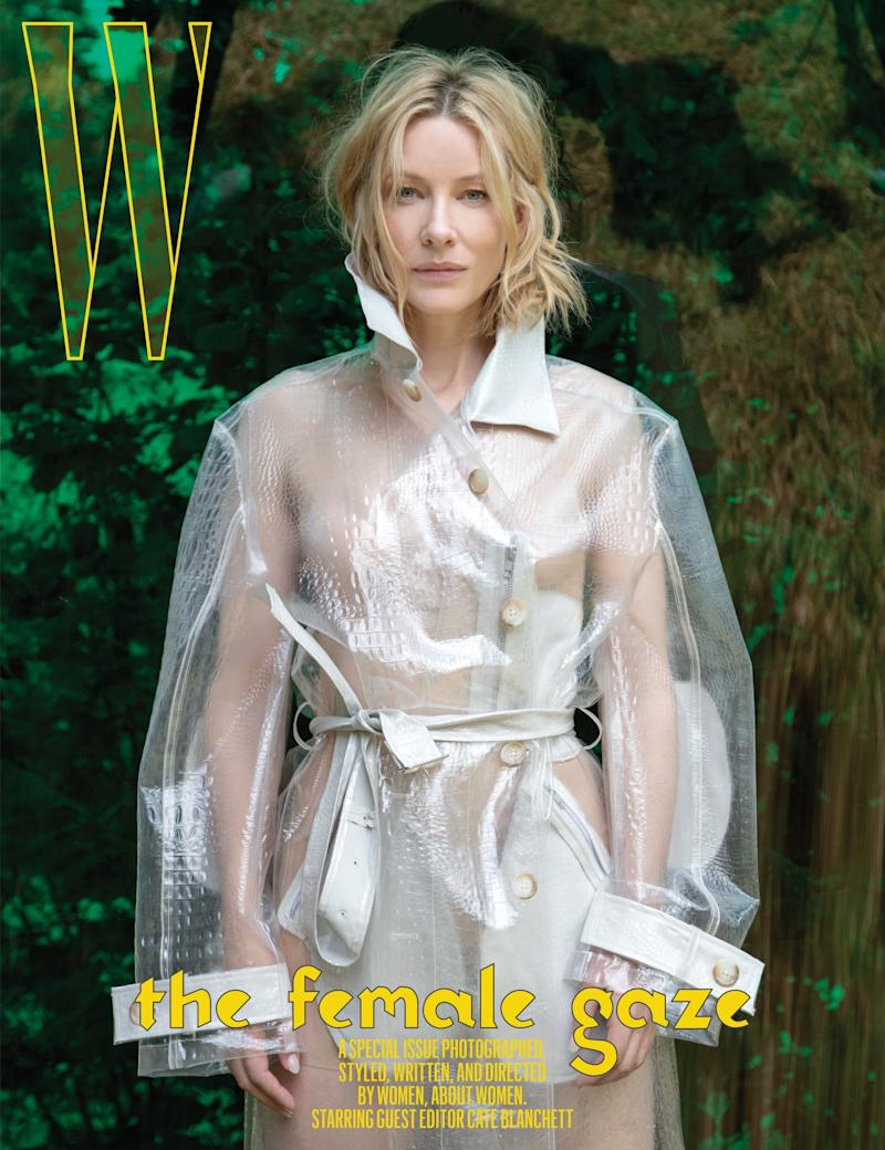 Cate Blanchett photographed by Jackie Nickerson for W Magazine, September 2018.