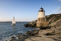 """<p>This quintessential seaside city is often known for its opulent display of Gilded Age mansions. However, there's a young, playful spirit that emerges in Newport's small bistros and quaint boutiques. For first-time guests, plan to take a stroll down <a href=""""http://www.cliffwalk.com/"""" rel=""""nofollow noopener"""" target=""""_blank"""" data-ylk=""""slk:Cliff Walk"""" class=""""link rapid-noclick-resp"""">Cliff Walk</a> to see architectural splendors such as <a href=""""https://www.newportmansions.org/explore/the-breakers"""" rel=""""nofollow noopener"""" target=""""_blank"""" data-ylk=""""slk:the Breakers"""" class=""""link rapid-noclick-resp"""">the Breakers</a> before heading off to <a href=""""https://www.thefifthri.com/"""" rel=""""nofollow noopener"""" target=""""_blank"""" data-ylk=""""slk:the Fifth Element"""" class=""""link rapid-noclick-resp"""">the Fifth Element</a> for a cool drink. </p><p>Can't miss beautiful places: <a href=""""http://normanbirdsanctuary.org/"""" rel=""""nofollow noopener"""" target=""""_blank"""" data-ylk=""""slk:Norman Bird Sanctuary"""" class=""""link rapid-noclick-resp"""">Norman Bird Sanctuary</a>, Marble House, and Castle Hill Lighthouse</p>"""