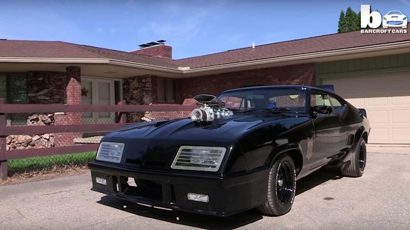 Video: Mad Max Fan Recreates Original Interceptor Car