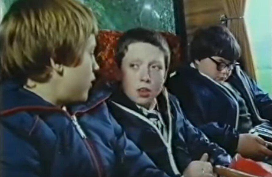 Lee MacDonald (centre) played Samuel 'Zammo' McGuire in 'Grange Hill' between 1981 and 1987 (BBC/YouTube)