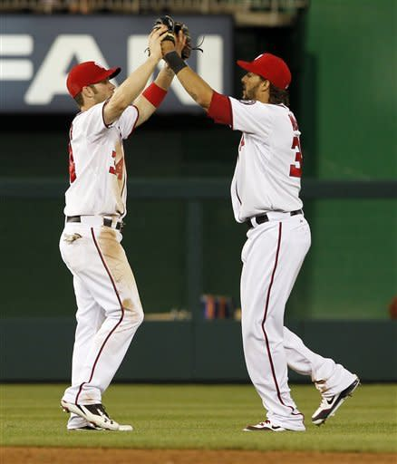 Jackson, LaRoche lead Nationals over Mets 5-3
