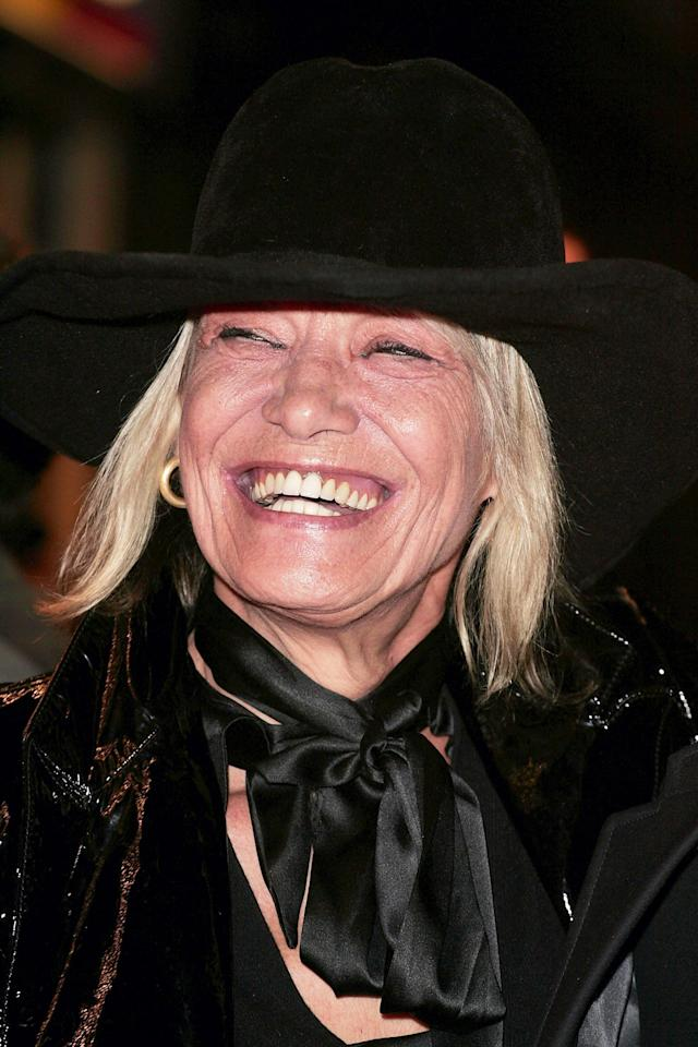 <p>Anita Pallenberg was an actress and model credited as a muse of the Rolling Stones. She was the romantic partner of band members Brian Jones and, later, Keith Richards. She died June 13 of complications from hepatitis C. She was 75.<br> (Photo: Getty Images) </p>