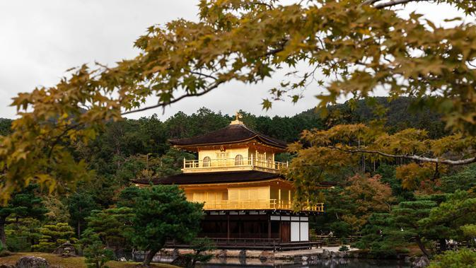 Golden Pavilion in Kyoto, Japan(unsplash.com/CharlesPostiaux)