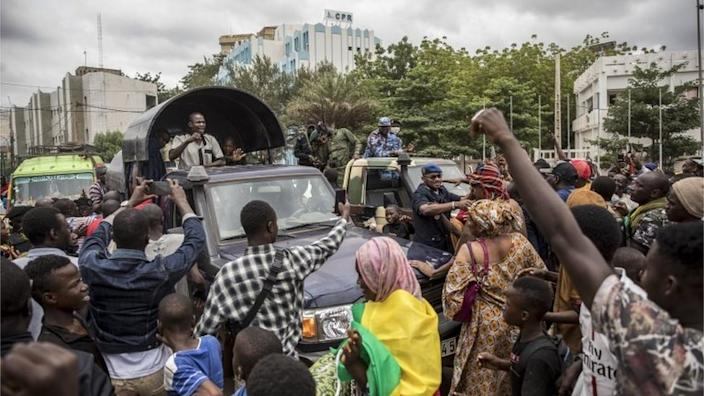 Many Malians have welcomed the military takeover
