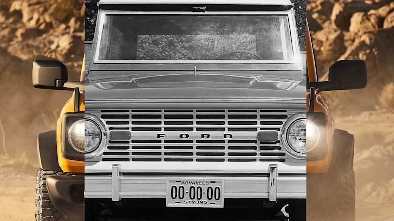 Ford Bronco Teaser Old And New