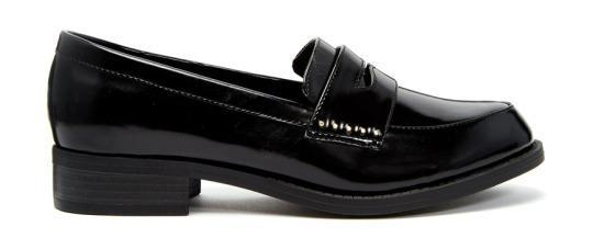 """<p>New Look Wide Fit Leicester Chunky Loafer Flat Shoes, $23, <a href=""""http://www.asos.com/new-look-wide-fit/new-look-wide-fit-leicester-chunky-loafer-flat-shoes/prod/pgeproduct.aspx?iid=5840836&clr=Black&SearchQuery=loafer&pgesize=36&pge=1&totalstyles=120&gridsize=3&gridrow=1&gridcolumn=3"""" rel=""""nofollow noopener"""" target=""""_blank"""" data-ylk=""""slk:ASOS"""" class=""""link rapid-noclick-resp"""">ASOS</a>.<br></p>"""