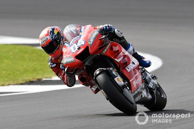 """Andrea Dovizioso, Ducati Team <span class=""""copyright"""">Gold and Goose / LAT Images</span>"""