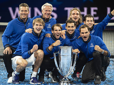 Laver Cup 2019: Alexander Zverev clinches thrilling victory over Milos Raonic as Europe retain title against Team World