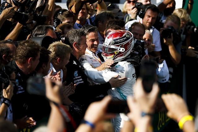 Hamilton: Top driver called Wolff for Mercedes move
