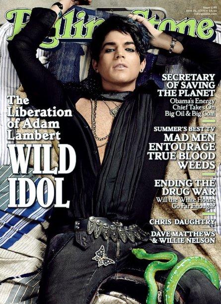 """<p>""""American Idol"""" 2009 runner-up opened up and finally revealed he's gay. """"I'm proud of my sexuality,"""" Lambert said to Rolling stone. He added, """"I embrace it. It's just another part of me.""""<br>(Photo: Rolling Stone Magazine) </p>"""