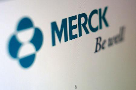 FILE PHOTO: The logo of Merck is pictured in this illustration photograph in Cardiff, California April 26, 2016.  REUTERS/Mike Blake/File Photo