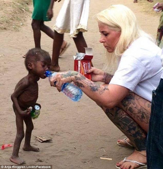 Afbeeldingsresultaat voor nigerian witch boy saved by anja today