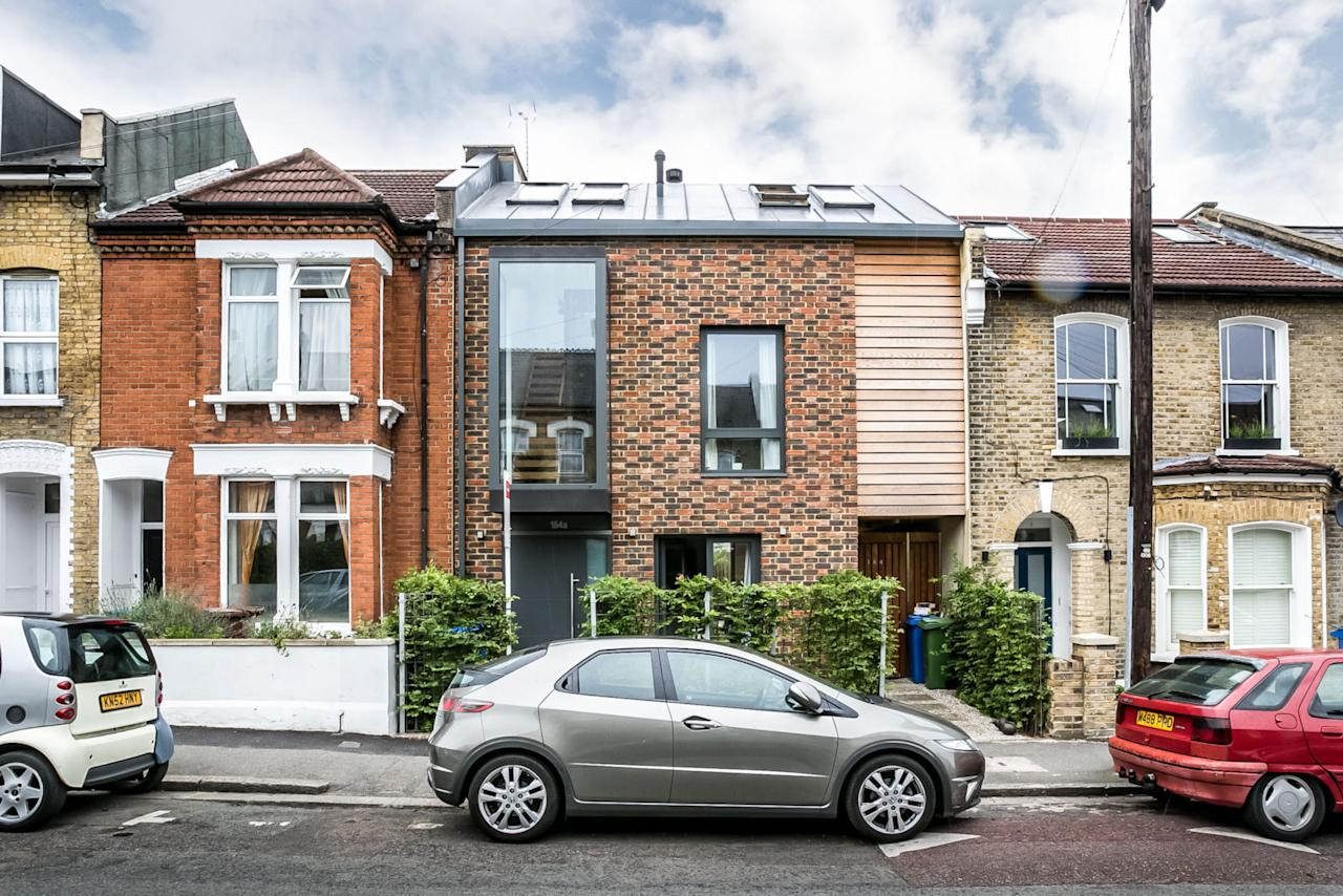 <p>Forming part of an attractive Victorian terrace in Peckham, south east London, this five-bedroom contemporary house was completed in 2016 to a design by Boho London architects. </p>