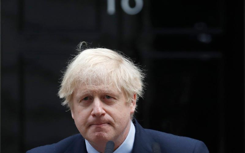 Prime Minister Boris Johnson - AP