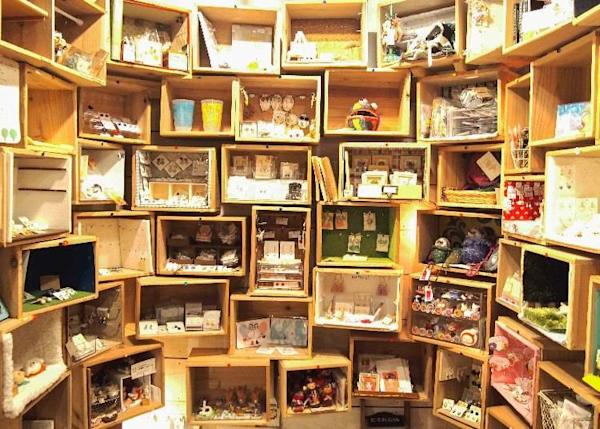 Each Box is like a single store with its own spectacular interior.