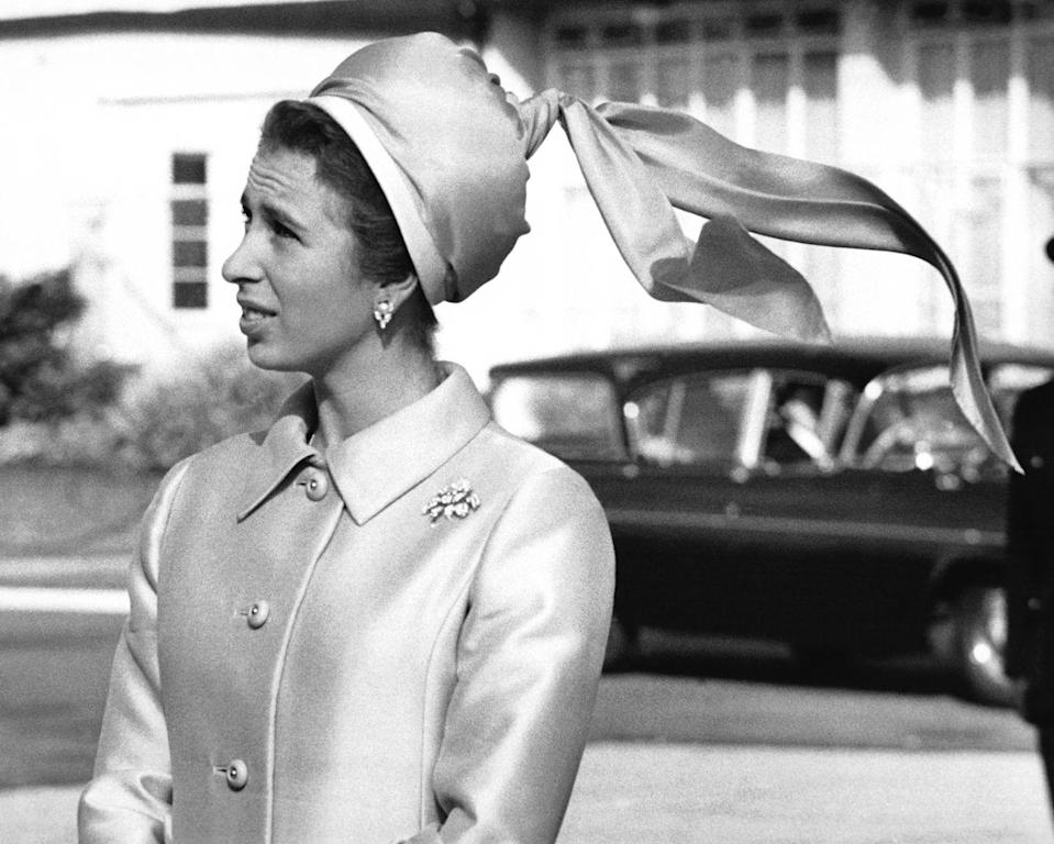 <p>Princess Anne has worn many a statement hat in her day, but rarely are her headpieces' designs as perfectly highlighted as in this photo.<br></p>