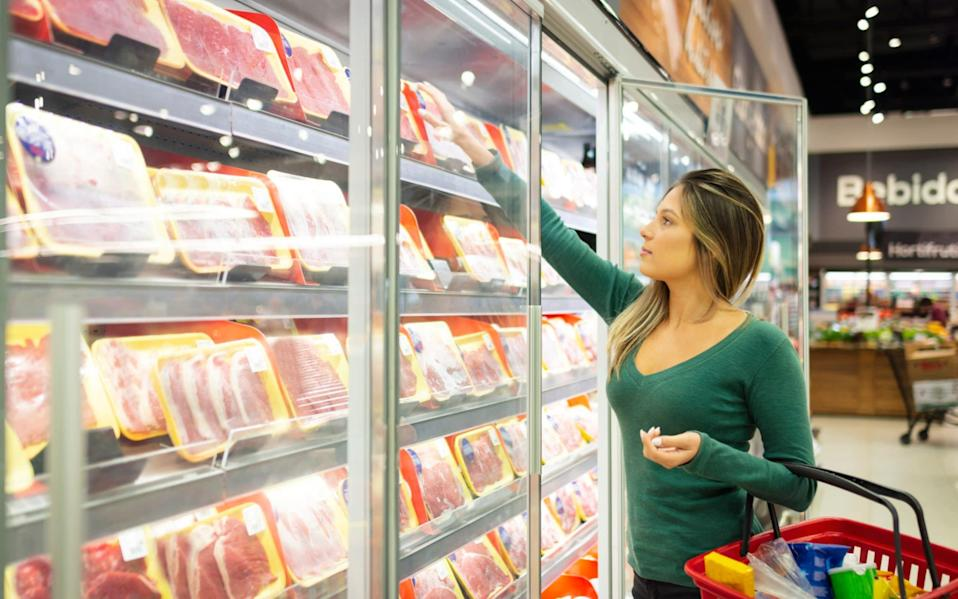 Shoppers and traders have been urged to remain vigilant over potential food fraud during the pandemic - Getty Images