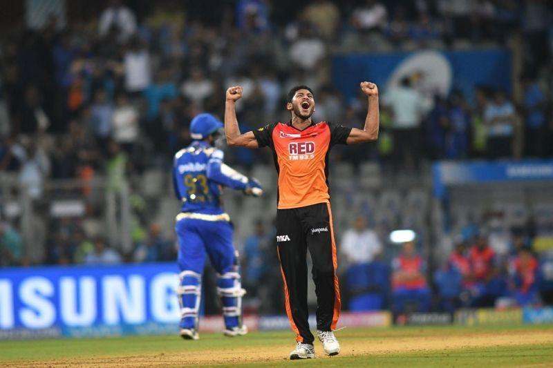 Basil Thampi bowled the most expensive spell in the history of the IPL