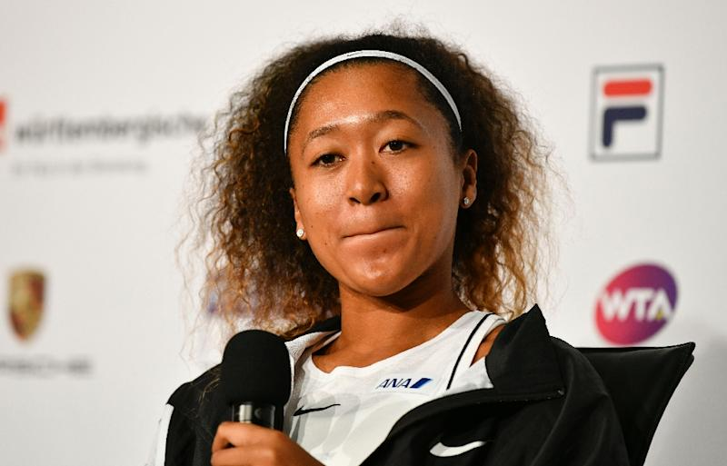 Naomi Osaka 'dodged bullet' in Stuttgart as rival Simona Halep pulls out
