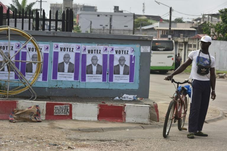 The average age in Ivory Coast is just 19, while the leading candidates in the presidential election are aged 78 and 86