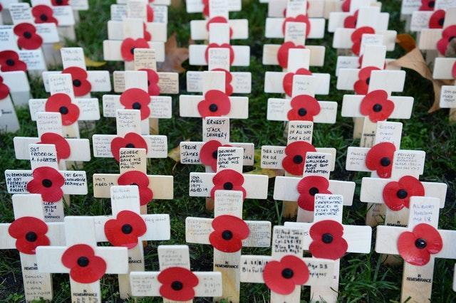 The Field of Remembrance at Westminster Abbey in 2018 (Kirsty O'Connor/PA)