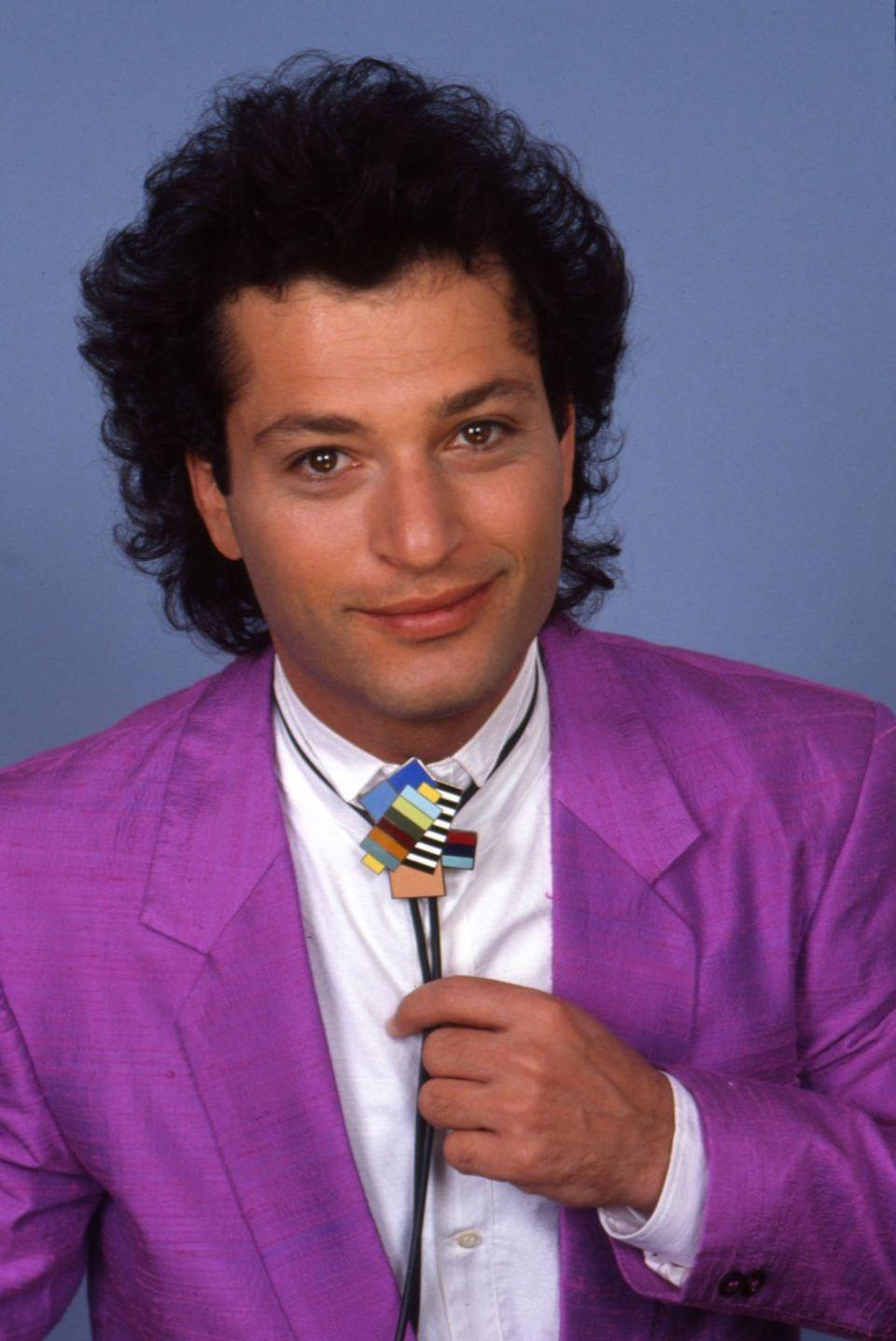 <p>It was the '80s, man. Not many had yet embraced the bald life and the mullet was still trending, as proven by the comedian's style of choice.</p>