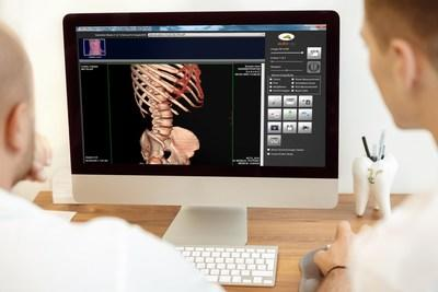 Professionals using MatrixRay image management software from Nautilus Medical.