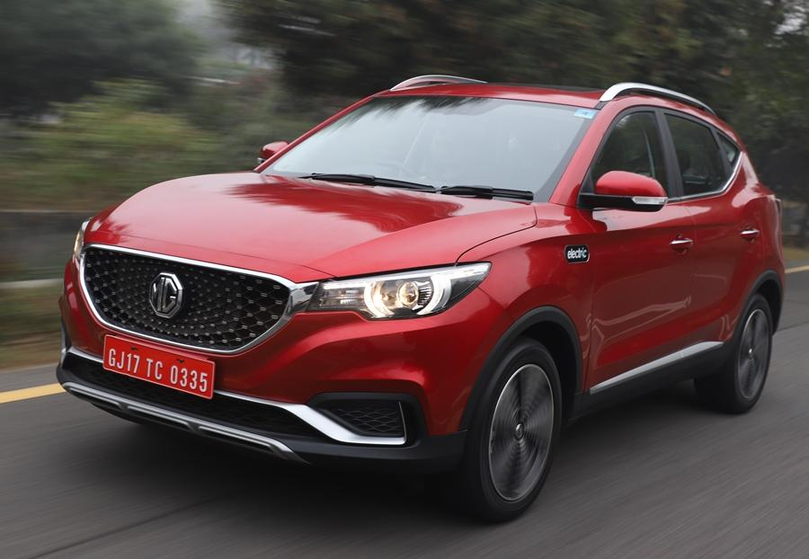 MG's second car after the Hector would be the ZS EV and it's a premium crossover which would be pegged at a higher price point than the Hector. The India spec versionS would be fairly well equipped while the range would be 340km.