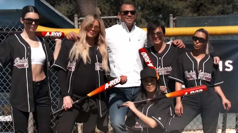 'KUWTK': Alex Rodriguez Tries to Coach the Kardashians In Softball and, Well...