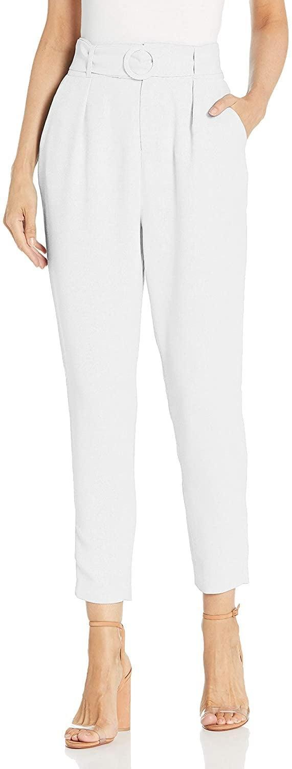 <p>Wear these <span>BB Dakota Nice Hustle Textured Novelty Woven Belted Pants</span> ($45) with boots and a coat this fall.</p>