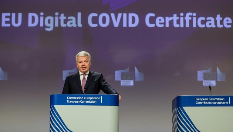 The EU plans to launch its Digital Covid Certificate on July 1