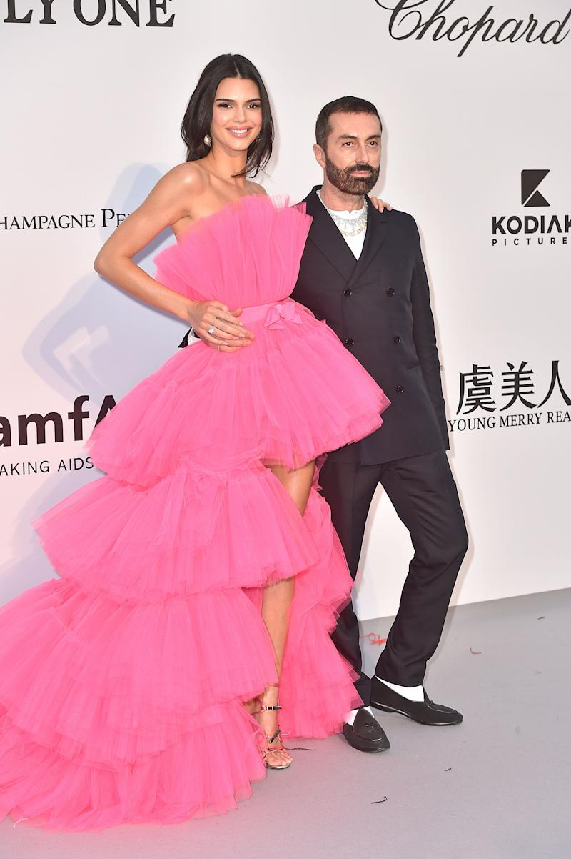 """Valli girl"" Kendall Jenner and Giambattista Valli. (Photo by Dominique Charriau/Getty Images)"