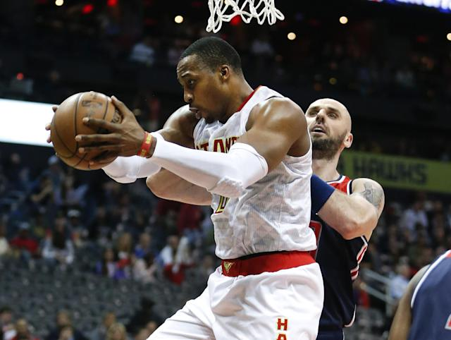 Dwight Howard's role greatly diminished in the postseason. (AP)