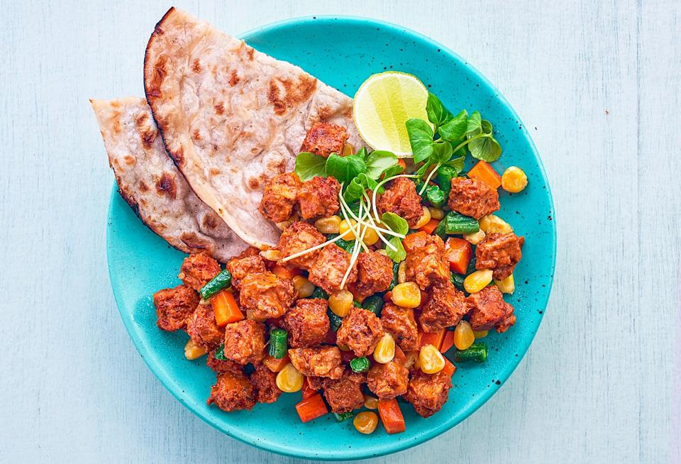 Tempeh can be used to make many Indian dishes. Photo credit: Hello Tempayy