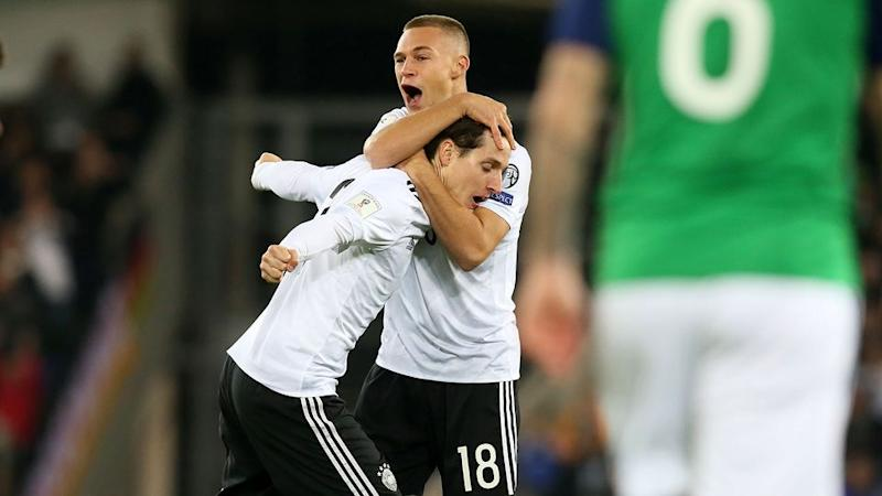 Germany's win was never in doubt. Pic: Getty