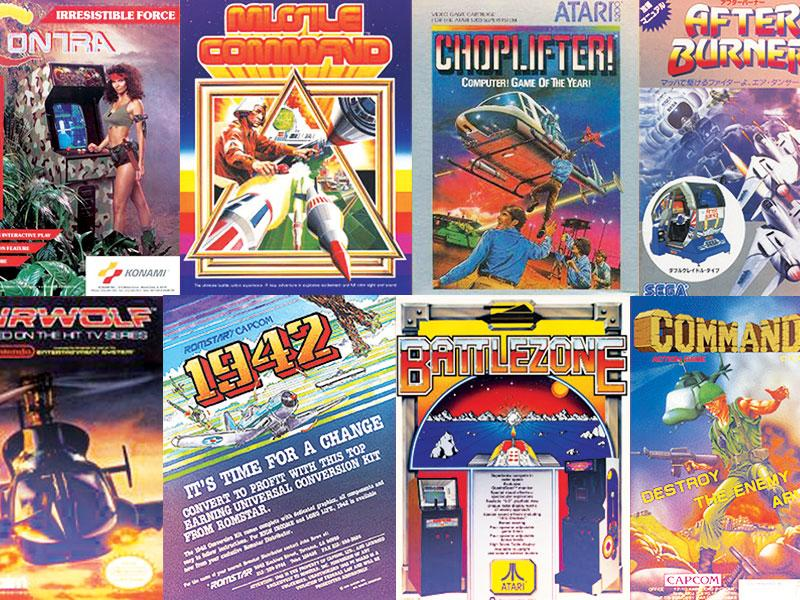 The 10 Best Military Arcade Games Of 80s