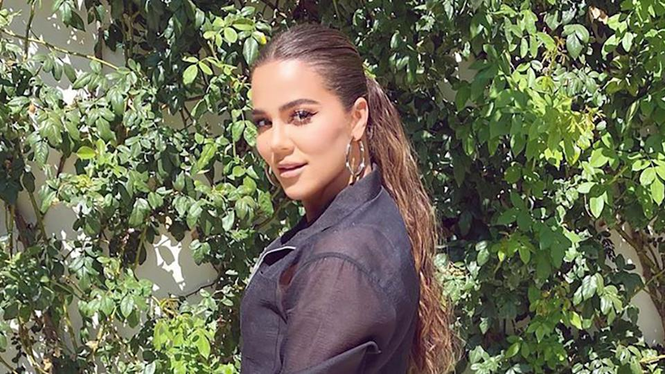 """Khloe Kardashian has baffled fans after sharing a new snap to Instagram with many saying she looks """"so different"""". Photo: Instagram/Khloe Kardashian"""