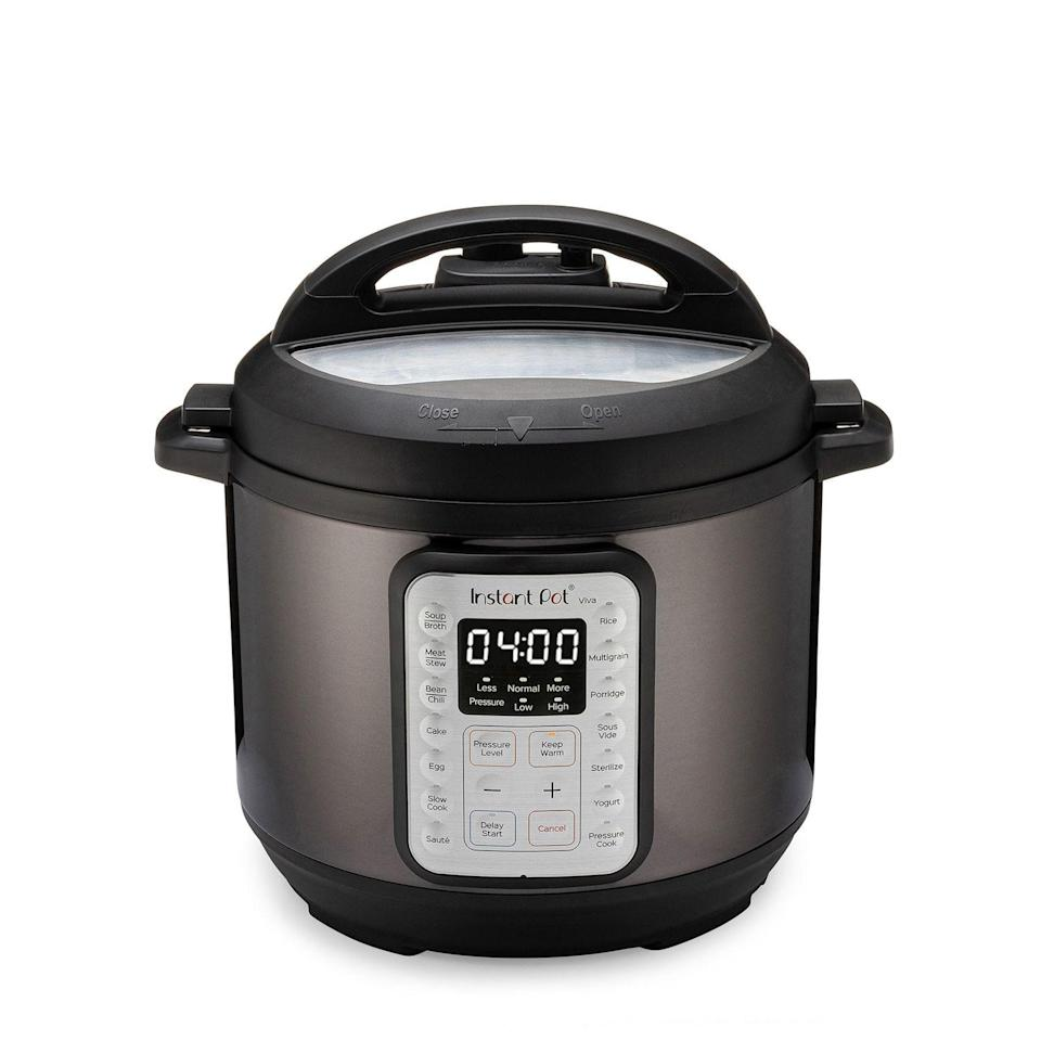 """<p><strong>Instant Pot</strong></p><p>walmart.com</p><p><a href=""""https://go.redirectingat.com?id=74968X1596630&url=https%3A%2F%2Fwww.walmart.com%2Fip%2F562129090&sref=https%3A%2F%2Fwww.womansday.com%2Flife%2Fwork-money%2Fg36787119%2Fwalmart-amazon-prime-day-big-save-deals-2021%2F"""" rel=""""nofollow noopener"""" target=""""_blank"""" data-ylk=""""slk:Shop Now"""" class=""""link rapid-noclick-resp"""">Shop Now</a></p><p><strong><del>$99</del> $59 (40% off)</strong></p><p>With various functions like """"pressure cook,"""" """"sauté,"""" and """"sous vide,"""" the Instant Pot is poised to become the hero of your kitchen. Best of all? Walmart's currently taking 40% off the asking price.</p>"""