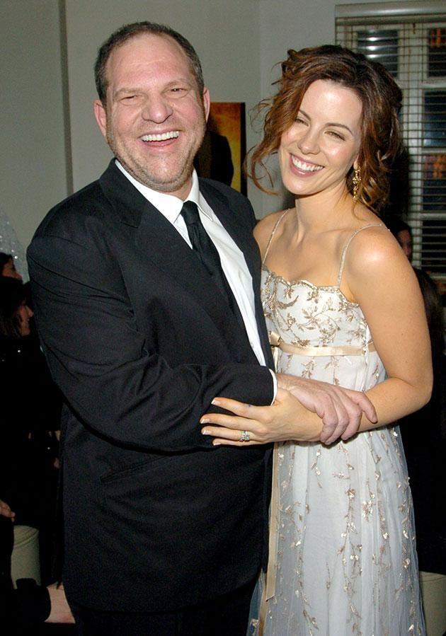 Kate and Harvey pictured together in 2004. Source: Getty