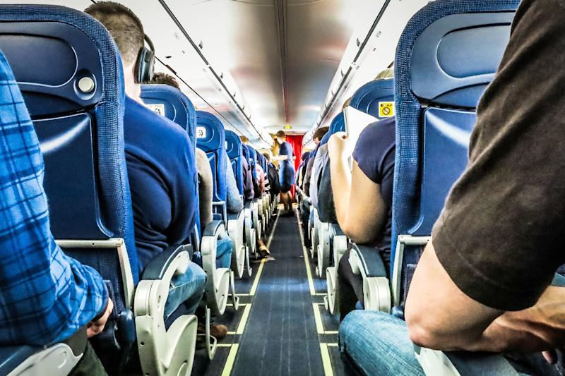 WATCH: Two Adult Plane Passengers Battle Over Window Shade: 'Do It One More Time, I Dare You!'
