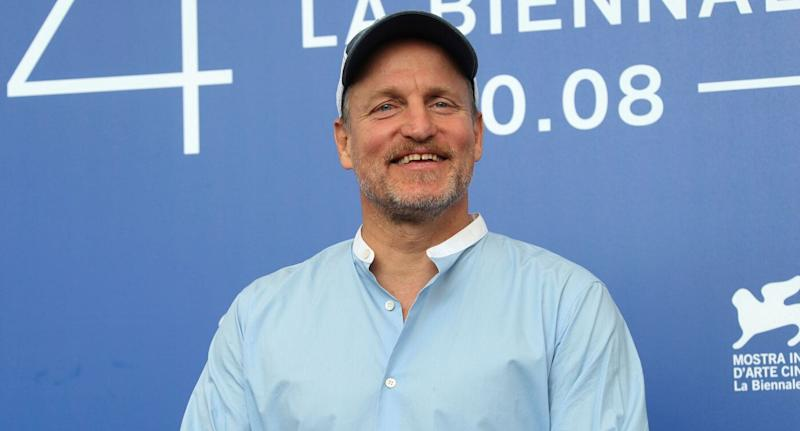 Actor Woody Harrelson at the Venice Film Festival. The NYPD photoshopped his face onto a man to try and find a thief in 2017.